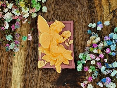 Flower Fairies, Dragons Blood, Patchouli and Sweet Orange Glycerin soap