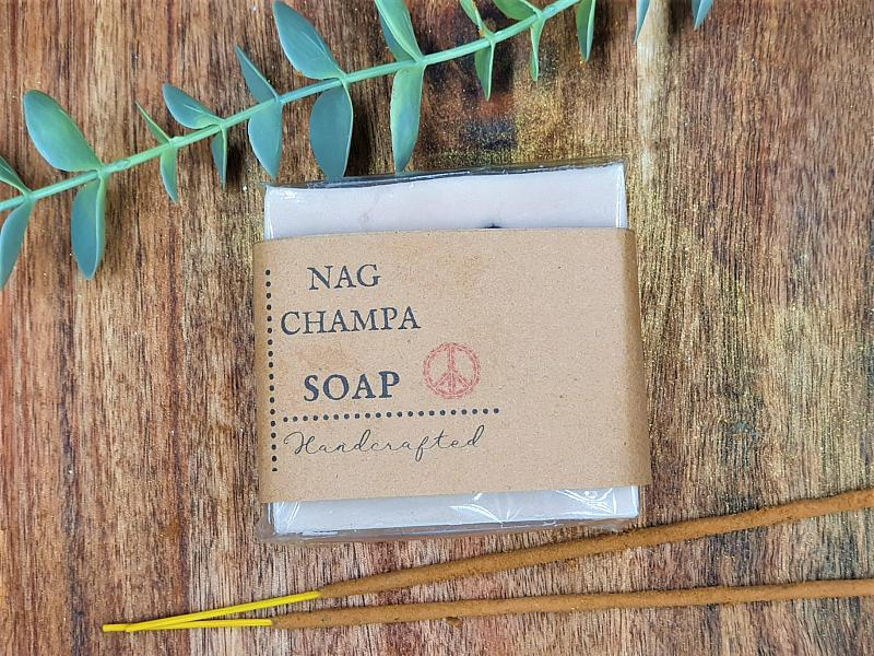 Nag Champa Peace soap with Rosehip