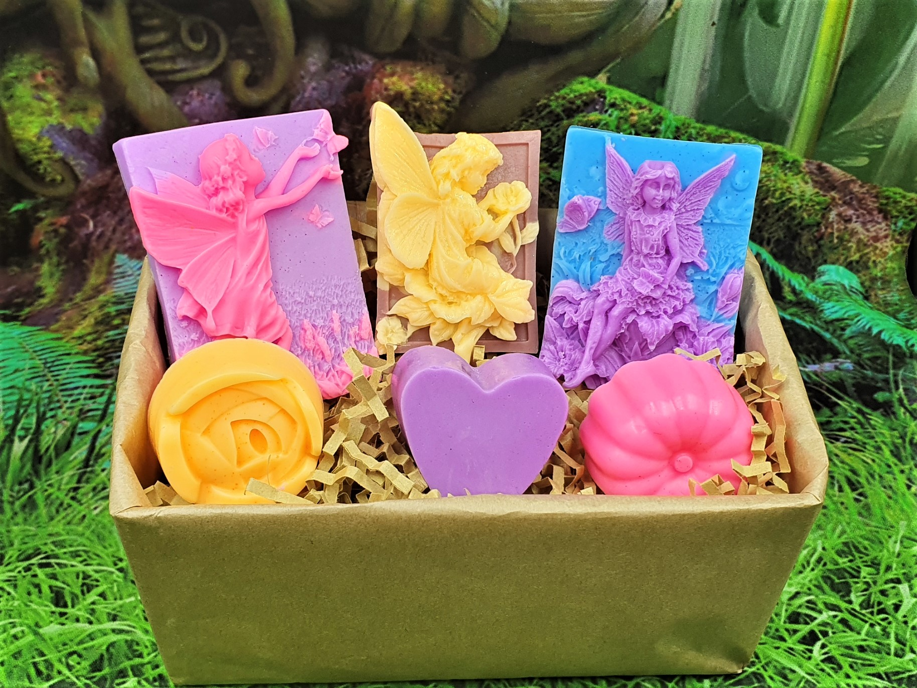Flower Fairies Soap Gift Box, with essential oils