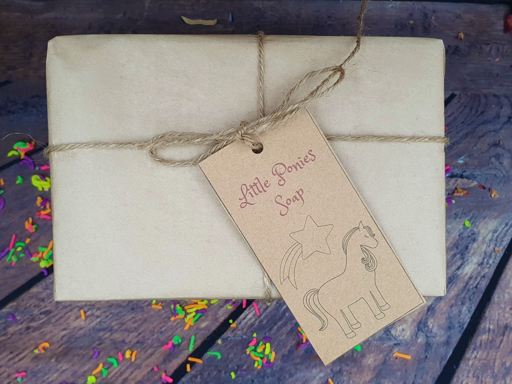Ponies Soap Gift Box