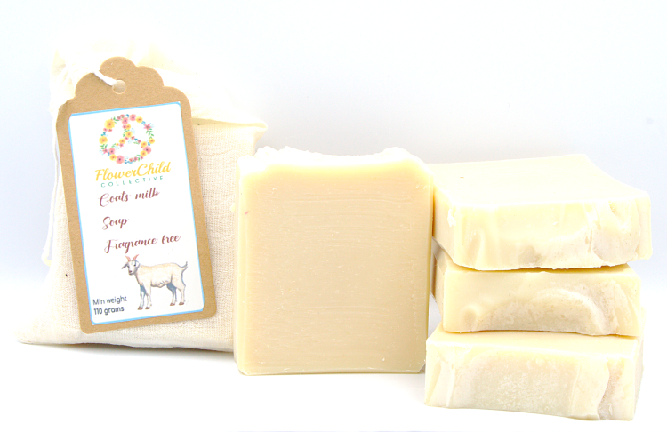 Fragrance Free Goats Milk Soap