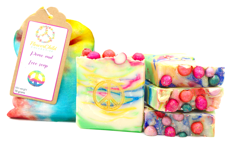Peace and Love Soap