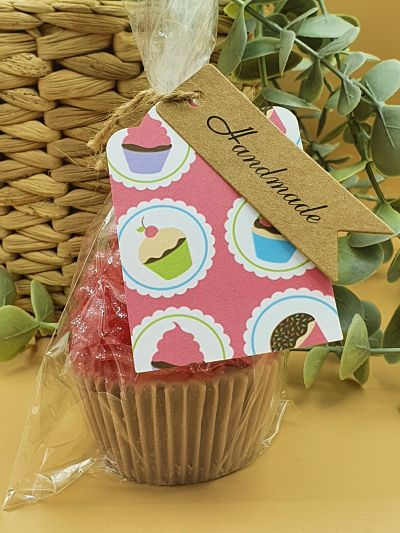 Strawberry and Vanilla Cupcake Glycerin Soap