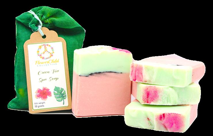 Green Tea Spa Soap